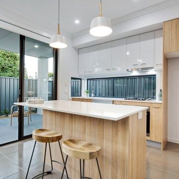 Anzac Highway Glenelg North Development open plan kitchen
