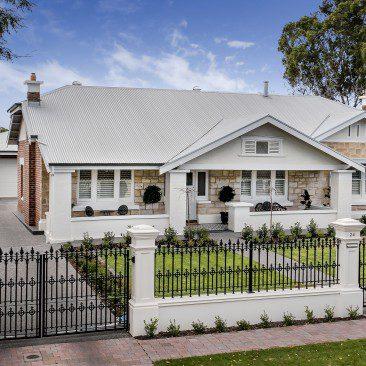 Gentleman's Bungalow Prospect heritage facade architecture