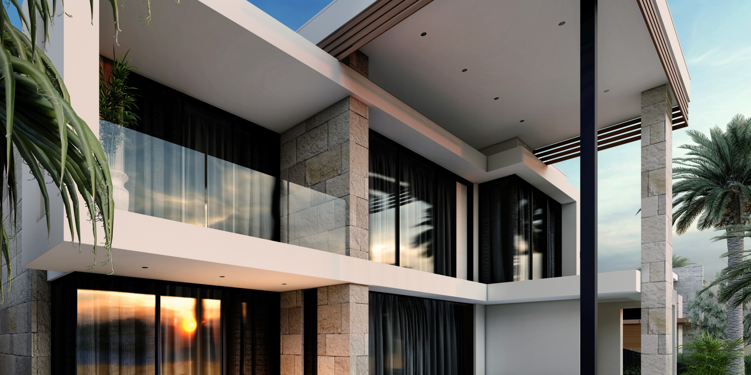 Lakeside Living Residence West Lakes rear perspective pool crop