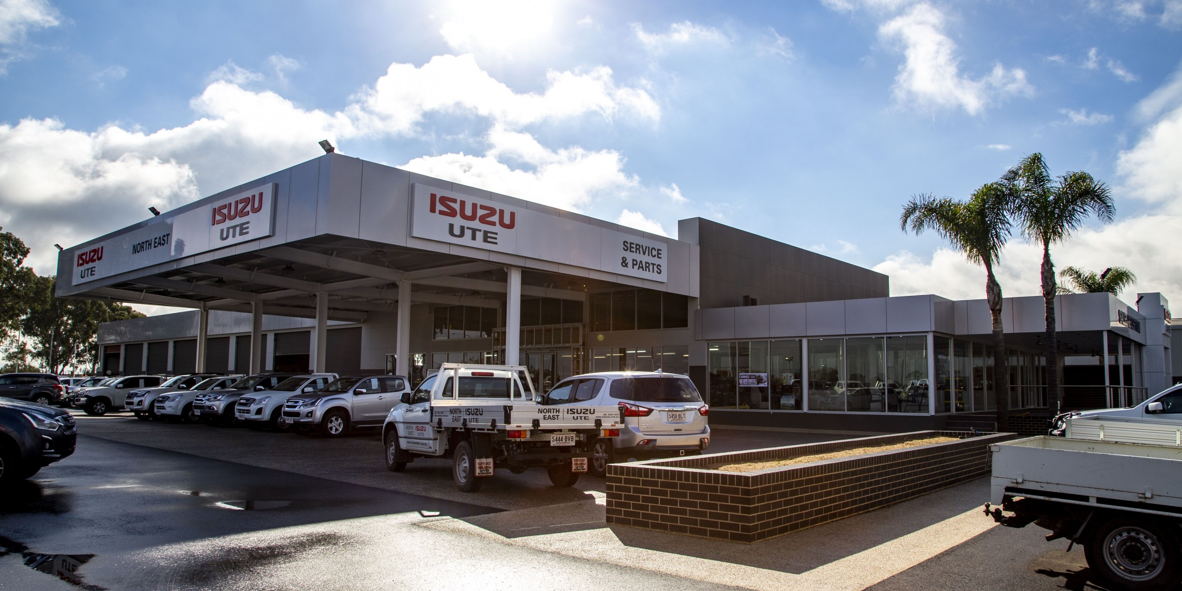 Isuzu Ute Commercial Architecture perspective
