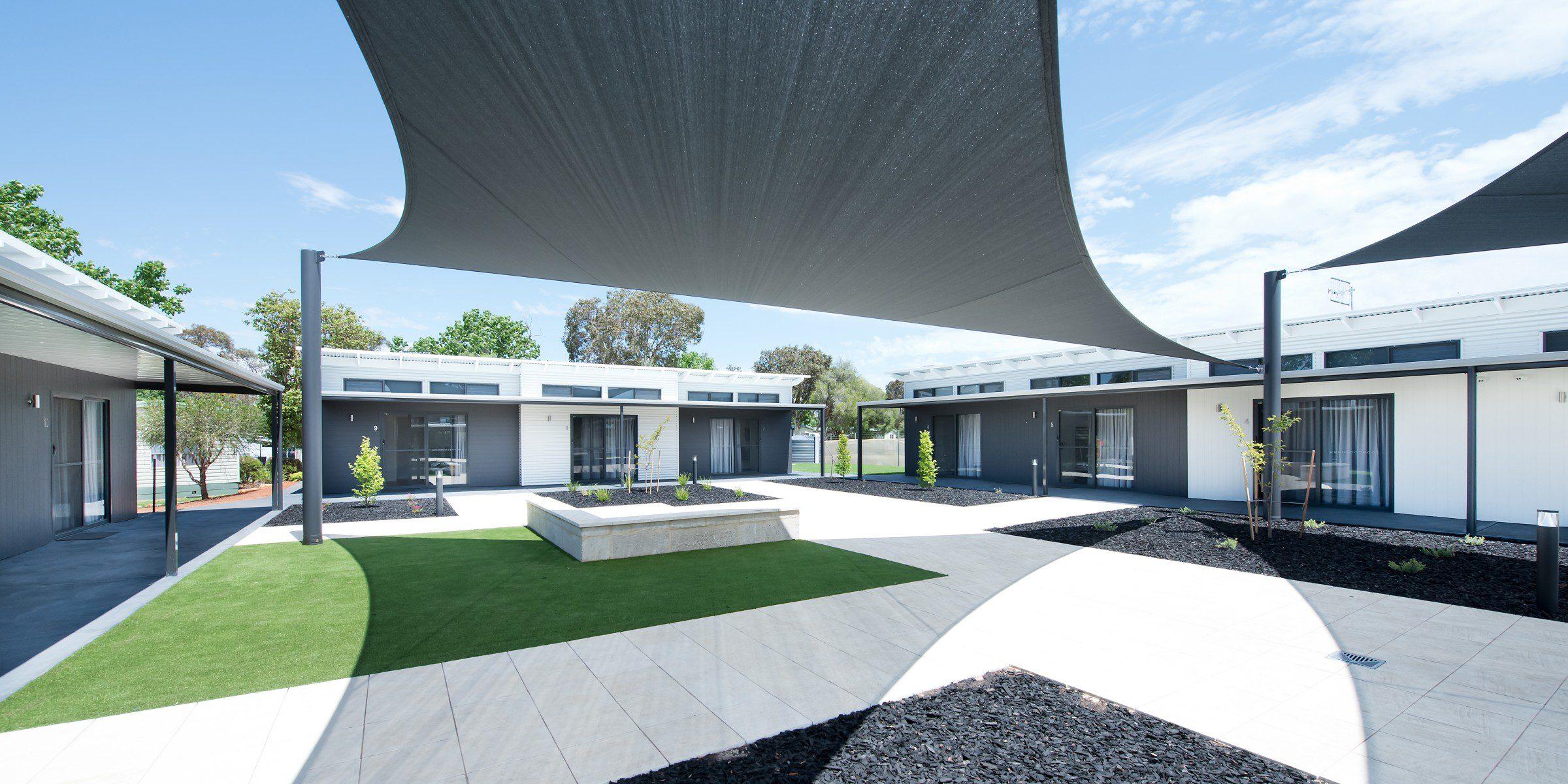 Photo of architecturally designed project at Berri Riverside Holiday Park, Berri