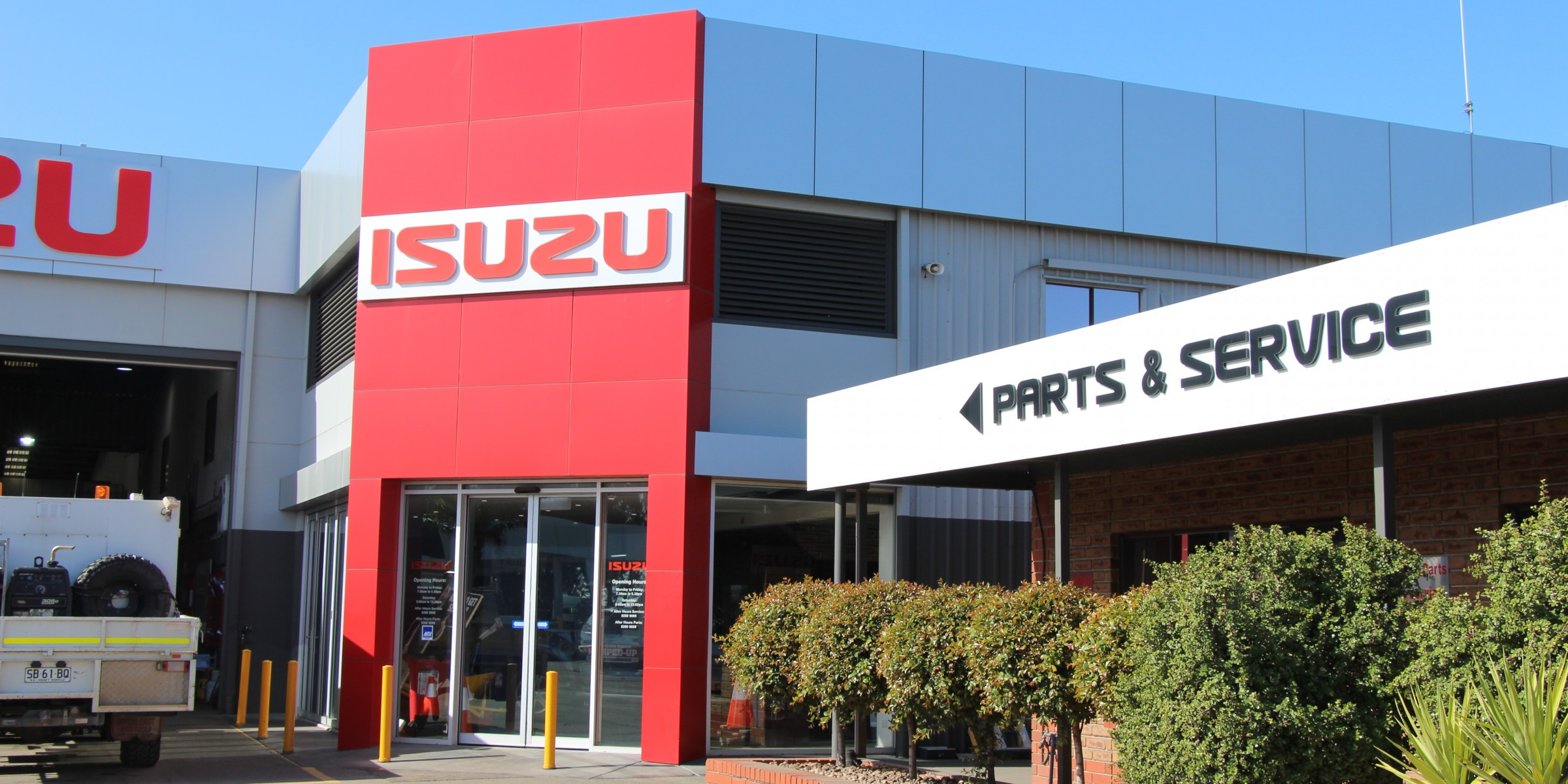 Isuzu Ute Commercial Architecture entry point photo