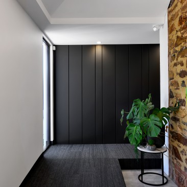 Think Architects Office Payneham stone meets contemporary