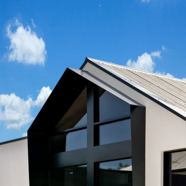 Think Architects office external roof detail