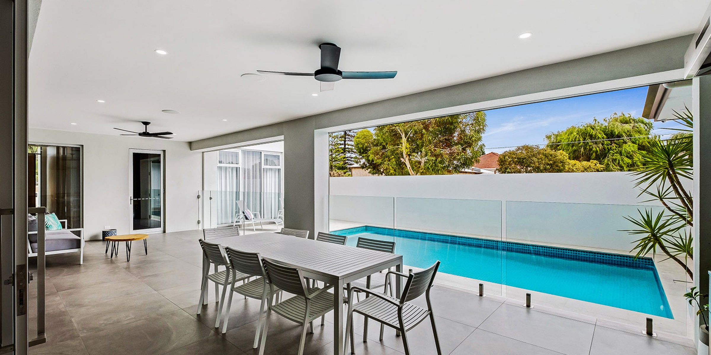 Photo of architecturally designed project at East Terrace Residence, Henley Beach