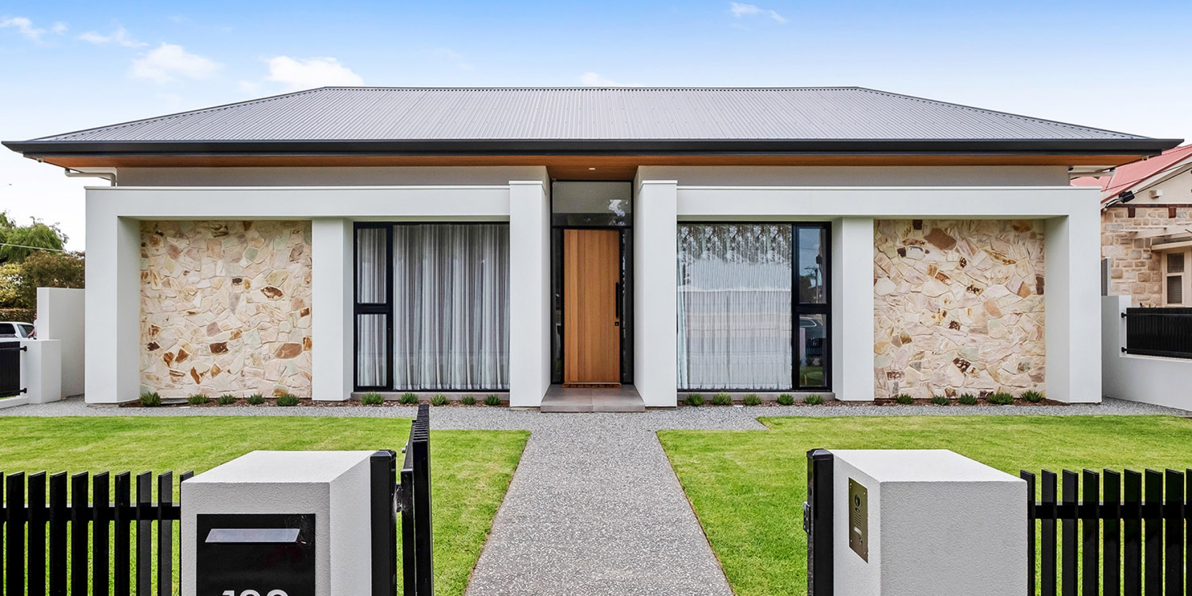 East Terrace Residence Henley Beach architectural facade