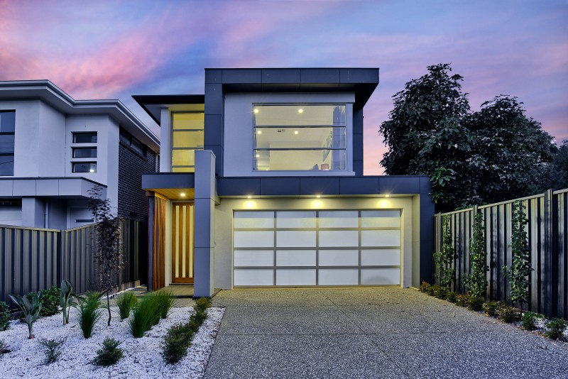 Hill Street Residence Henley Beach architectural facade