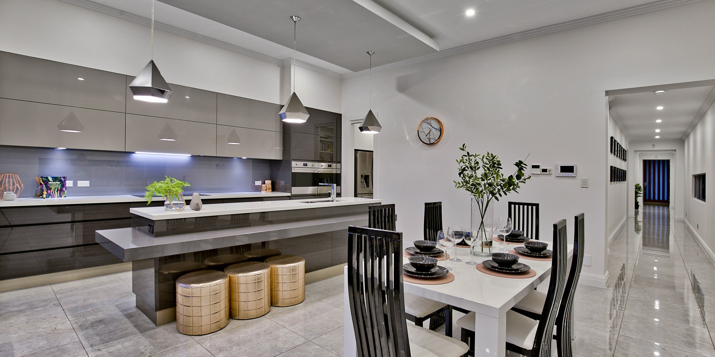 Hill Street Residence Henley Beach kitchen and dining