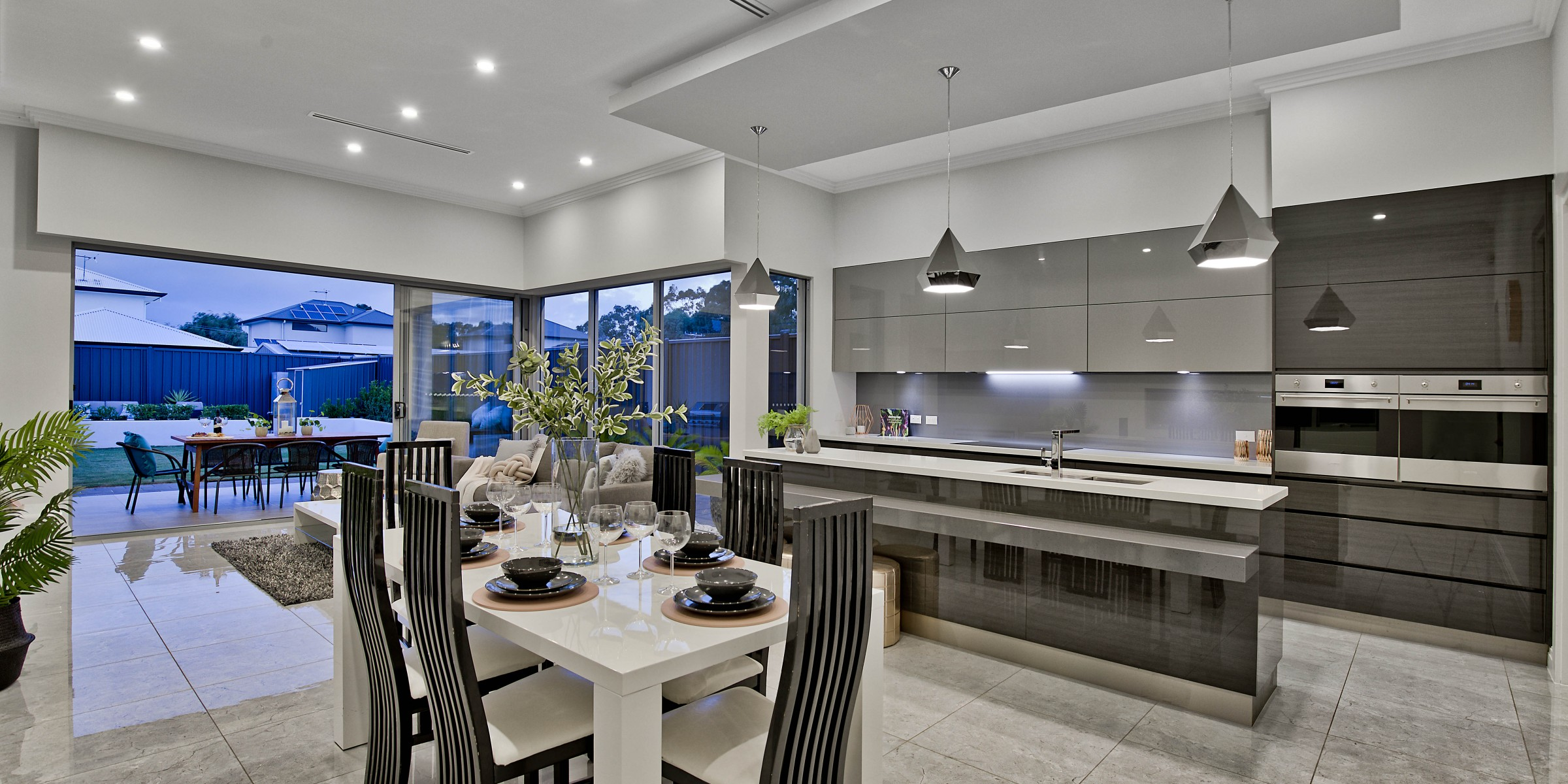 Hill Street Residence Henley Beach open plan living