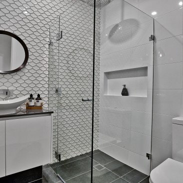 Hill Street Residence Henley Beach bathroom and tiling detail