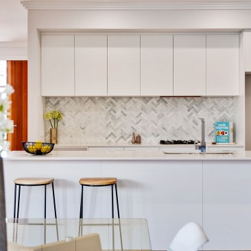Elgin Avenue Row Dwellings Warradale architectural development kitchen