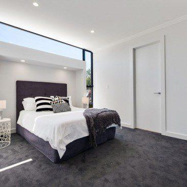Elgin Avenue Row Dwellings Warradale architectural development bedroom detail