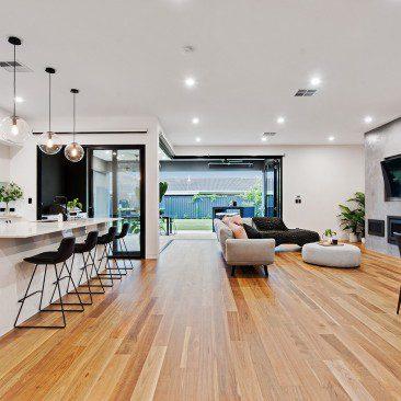 Moore Street Residence Somerton Park living space