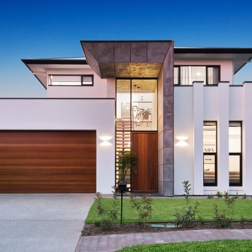 Moore Street Residence Somerton Park architectural facade
