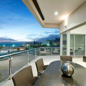 Esplanade Residences Seacliff balcony