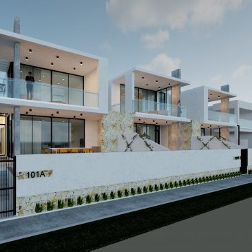 Esplanade Henley Beach South architecture rendered perspective