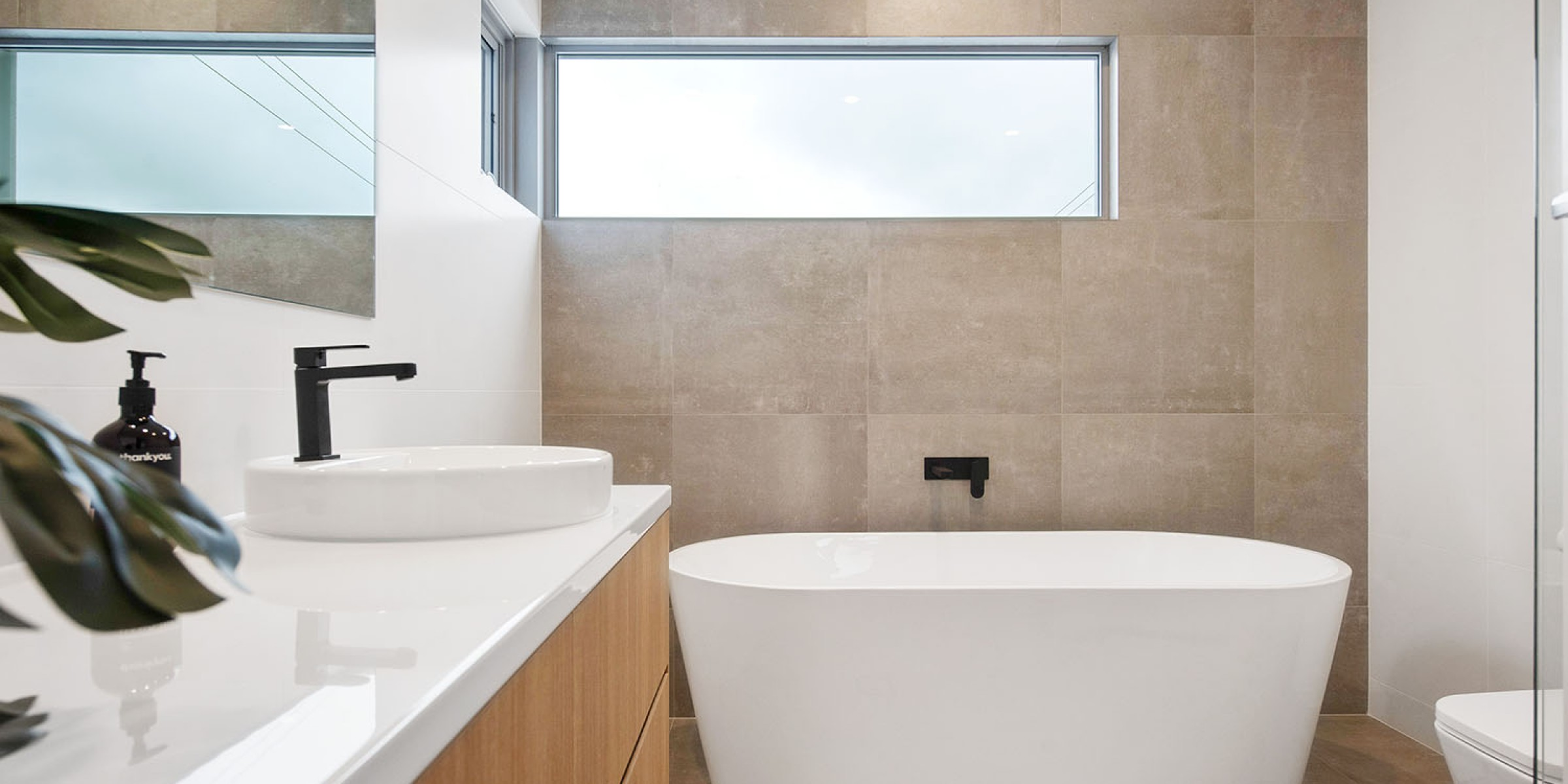 Brookside Drive Residence Tranmere bathroom
