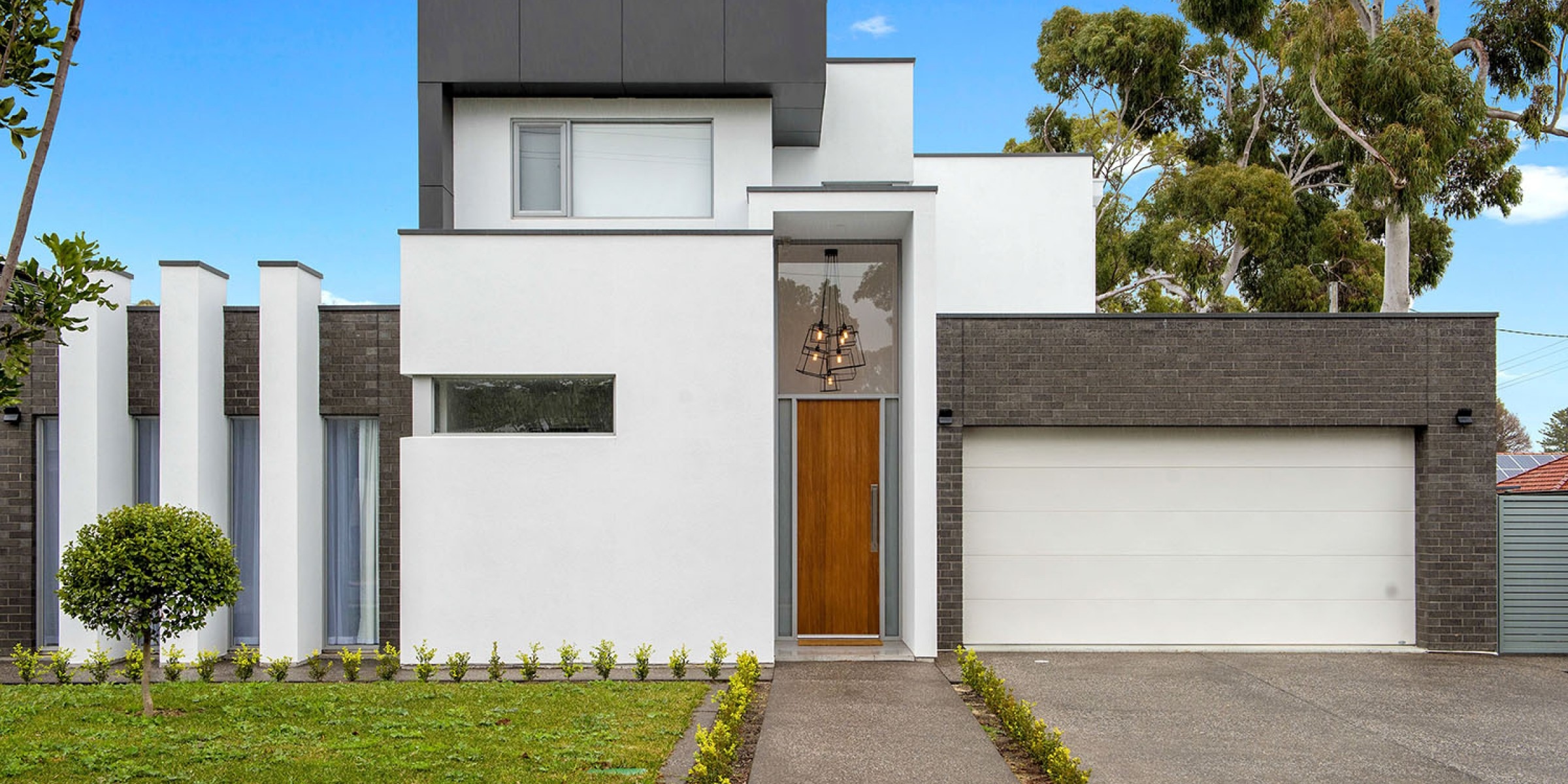 Brookside Drive Residence Tranmere architectural facade